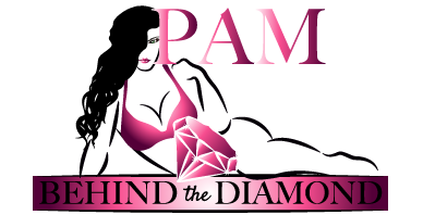 Pam Behind the Diamond
